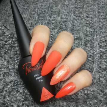 031 Poppy Red  lakier hybrydowy Provocater 7ml