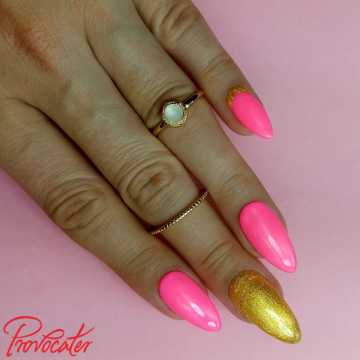 080 Neon Pink lakier hybrydowy Provocater 7ml